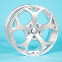 Литые диски JT 1261 R16 6.5J ET:50 PCD5x108 Sil