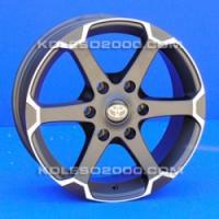 Литые диски Toyota T-702 R17 7.5J ET:30 PCD6x139.7 BD