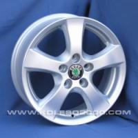 Литые диски Scoda T-516 R15 6.0J ET:45 PCD5x112 HS