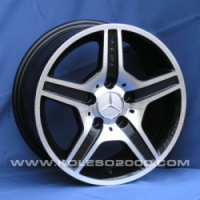 Литые диски Mercedes A-049 R15 7.0J ET:40 PCD5x112 BF-MB