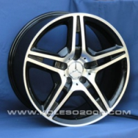 Литые диски Mercedes A-2542 R19x8.5J ET:35 PCD5x112 BF-MB