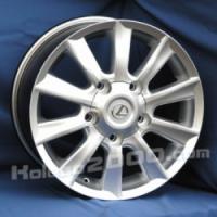 Литые диски Lexus A-851 R17 8.0J ET:60 PCD5x150 HS